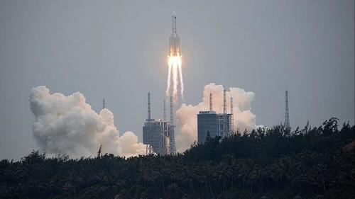 US Space Command Closely Tracking Large Chinese Rocket's Out-Of-Control Fall To Earth