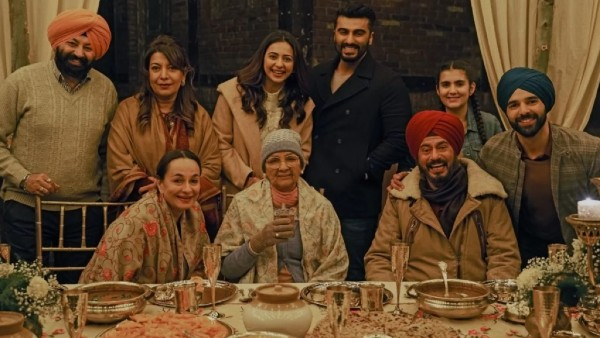 Sardar Ka Grandson Movie Review: Arjun Kapoor-Neena Gupta's Cross-Border Film Is No Home Sweet Home!