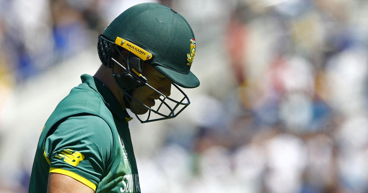 Cricket: AB de Villiers says South Africa retirement is 'final'