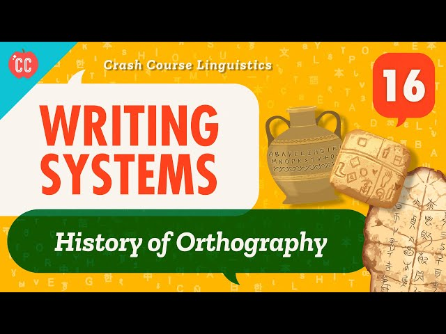 Writing Systems: Crash Course Linguistics #16