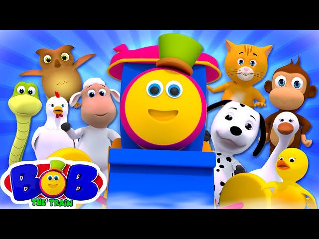 Ten in the Bed | Nursery Rhymes & Kids Songs | Children's Music | Baby Cartoon by Bob The Train