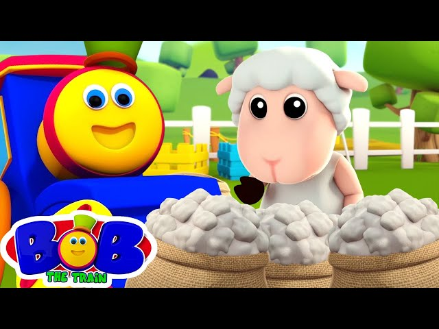 Baa Baa Black Sheep | Preschool Nursery Rhymes & Children Songs | Bob The Train | Kids Tv