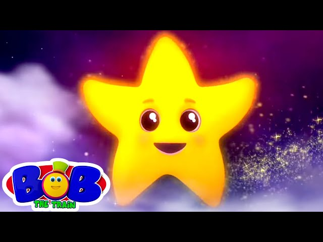 Twinkle Twinkle Little Star | Lullaby Song for Babies | Nursery Rhymes & Kids Songs - Bob The Train