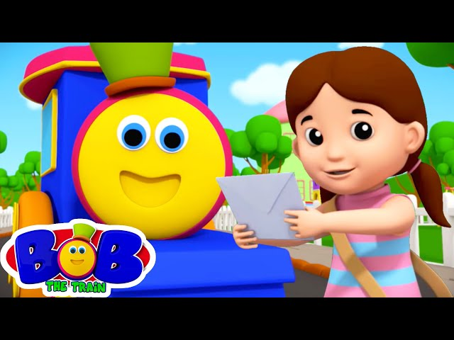 A Tisket A Tasket | Best Educational Songs & Nursery Rhymes | Kids Cartoon - Bob The Train