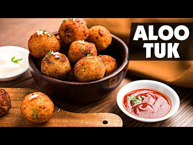 Aloo Tuk Recipe | सिंधी स्पेशल आलू टूक | Fried Potatoes | Indian Food Recipes | Lockdown Cooking