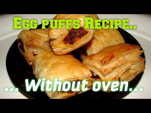 #Eggpuffs#eggpuffsrecipe#withoutoven Egg puffs Recipe without oven|| Indian Food Ral#